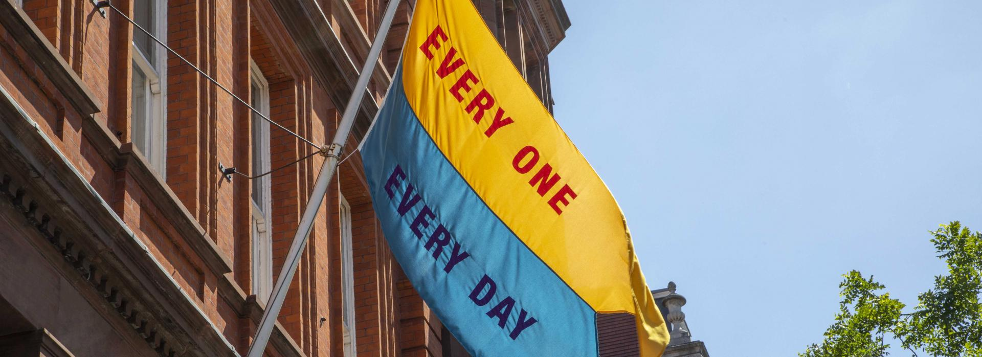 A Flag for Every One, from the Good Hope Works project at Great Ormond Street Hospital