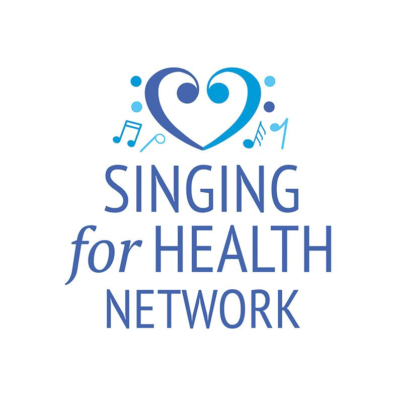 logo for Singing for Health Network