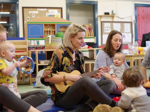 Breathe Arts Health Research, Melodies for Mums 2018 - photo by Leigha Fearon