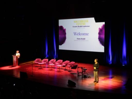 Elaine Bedell, Chief Executive of the South Bank Centre, introduces the Creative Health conference